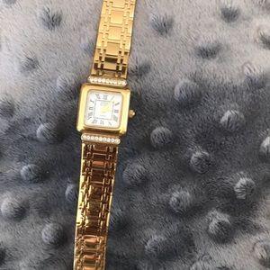 Anne Klein Swiss watch with crystals